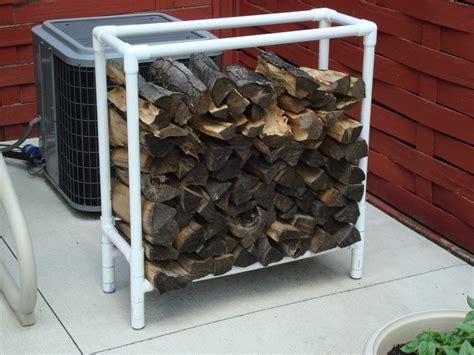 Diy-Pvc-Firewood-Rack