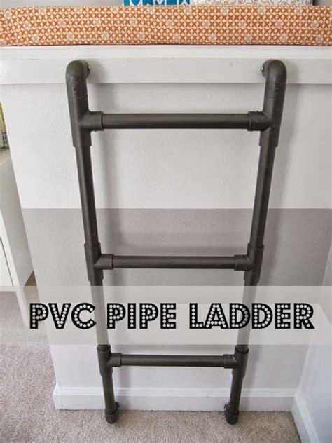 Diy-Pvc-Ladder-Shelf