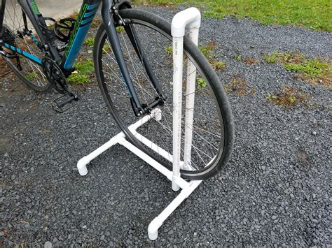 Diy-Pvc-Single-Bike-Rack