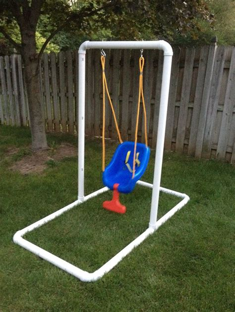 Diy-Pvc-Swing-Set