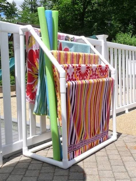 Diy-Pvc-Towel-Rack