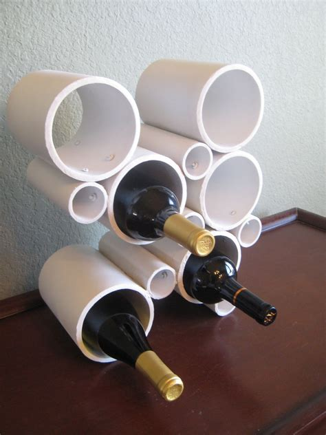 Diy-Pvc-Wine-Rack