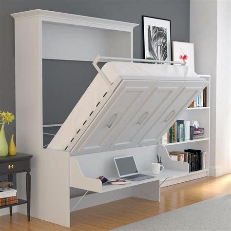 Diy-Queen-Murphy-Bed-With-Desk