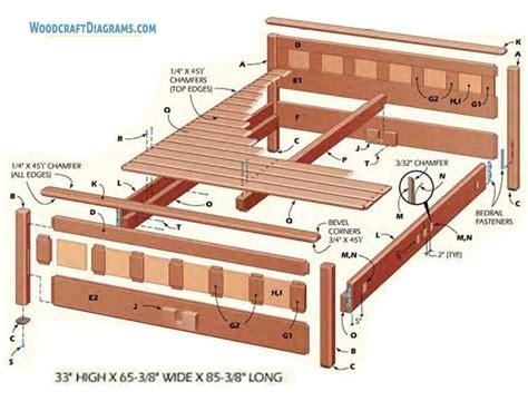 Diy-Queen-Size-Bed-Plans
