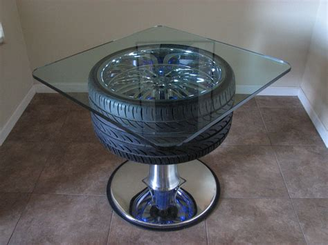 Diy-Racing-Wheel-Attached-Coffee-Table