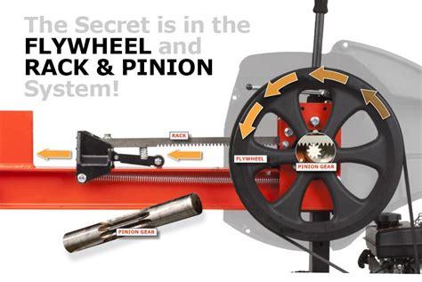 Diy-Rack-And-Pinion-Log-Splitter