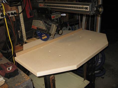 Diy-Radial-Arm-Saw-Table-Top