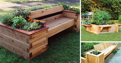 Diy-Raised-Garden-Bed-With-Bench