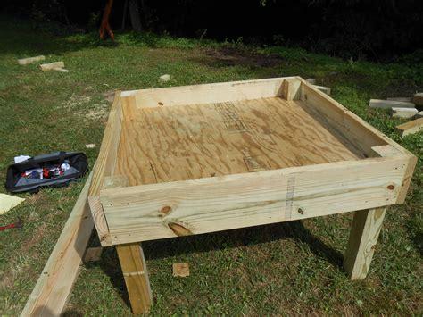 Diy-Raised-Sandbox