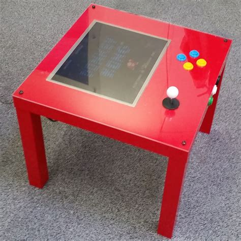 Diy-Raspberry-Pi-Arcade-Table