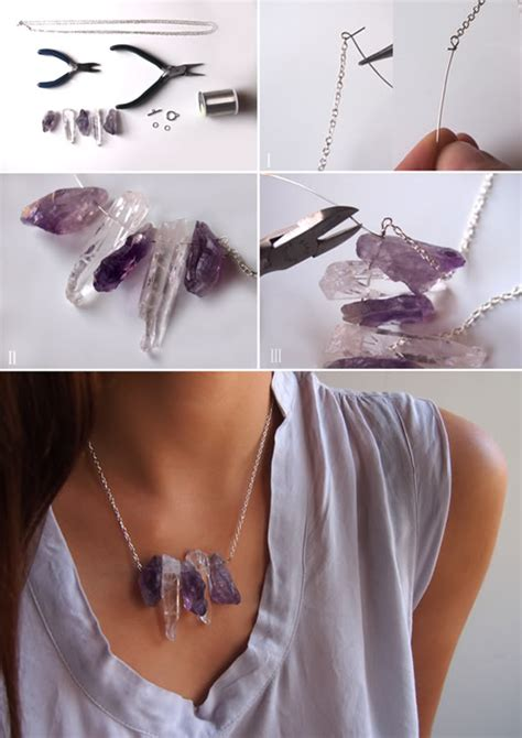 Diy-Raw-Crystal-Necklace