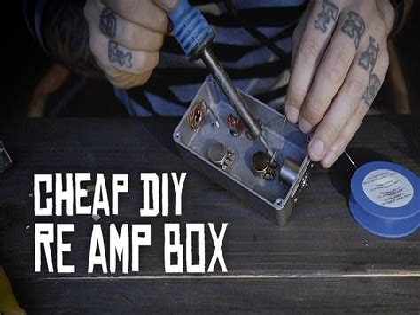 Diy-Re-Amp-Box