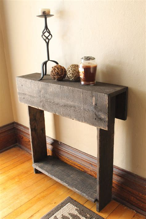 Diy-Reclaimed-Wood-Entry-Table