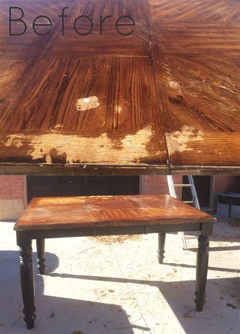 Diy-Refinish-Veneer-Table