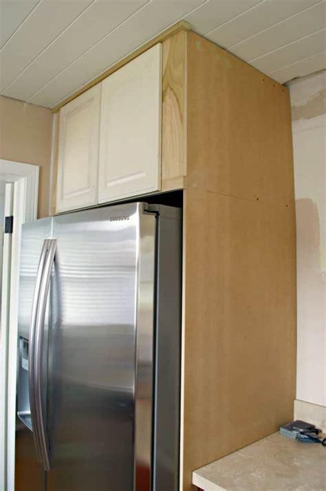 Diy-Refrigerator-Cabinet