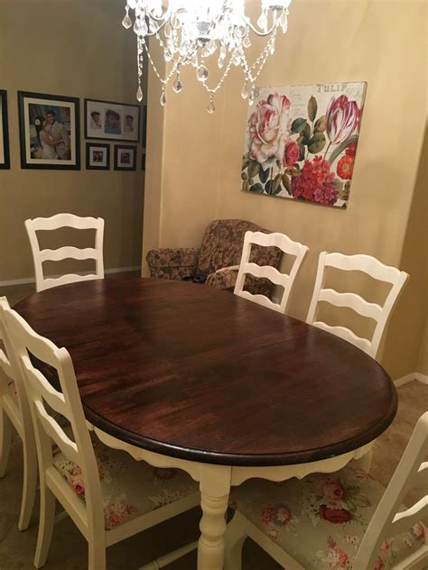 Diy-Refurbished-Kitchen-Table-And-Chairs