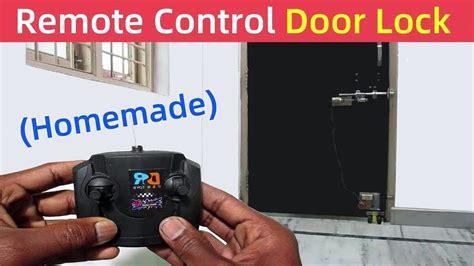 Diy-Remote-Door-Opener