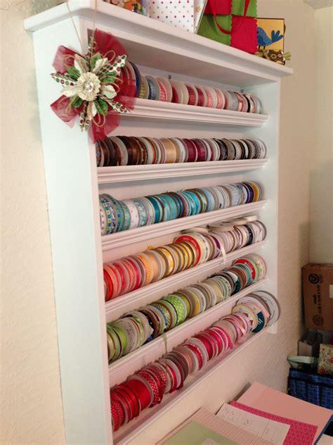 Diy-Repurpose-Craft-Ribbon-Shelf