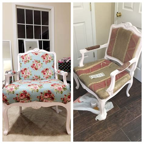 Diy-Reupholster-Chair-No-Sew