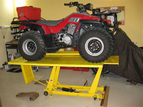 Diy-Riding-Lawn-Mower-Hydraulic-Lift-Table