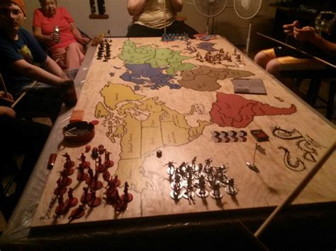 Diy-Risk-Game-Table