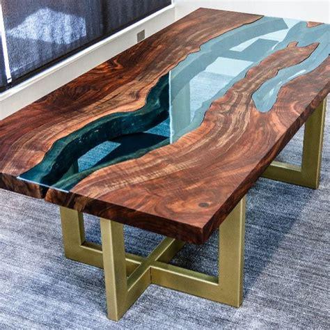 Diy-River-Glass-Table