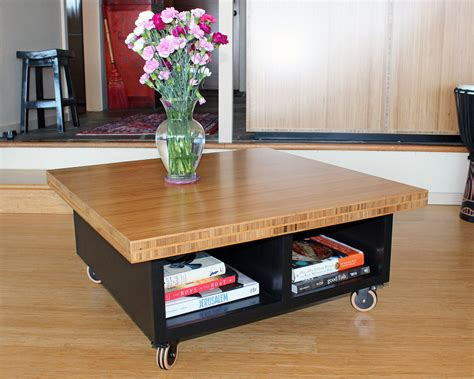 Diy-Rolling-End-Table