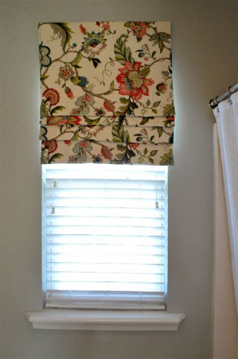 Diy-Roman-Shades-Using-Wood-Blinds