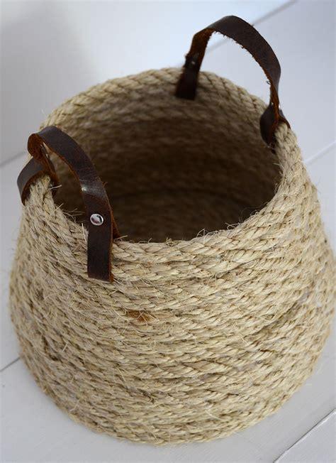 Diy-Rope-Basket