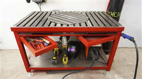 Diy-Rotary-Welding-Table