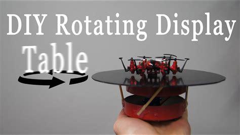 Diy-Rotating-Display-Table
