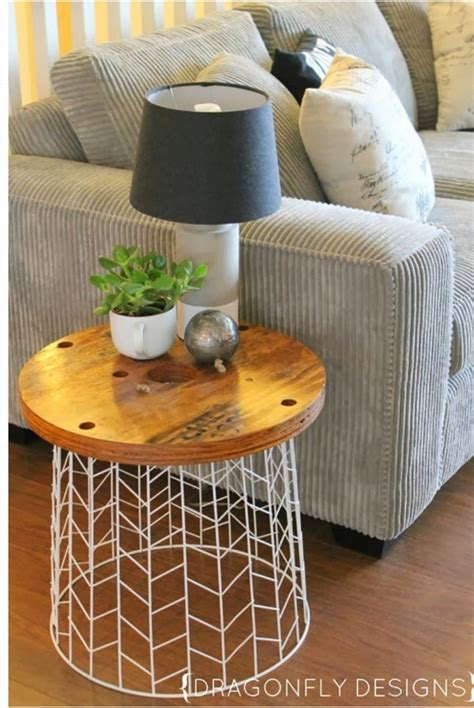 Diy-Round-Accent-Table