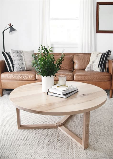 Diy-Round-Coffee-Table