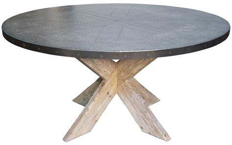 Diy-Round-Zinc-Table-Top
