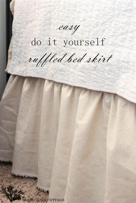 Diy-Ruffled-Bed-Skirt