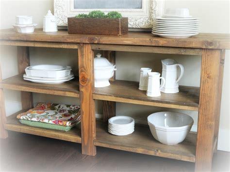 Diy-Rustic-Buffet-Table