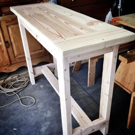 Diy-Rustic-Console-Table-From-2x4
