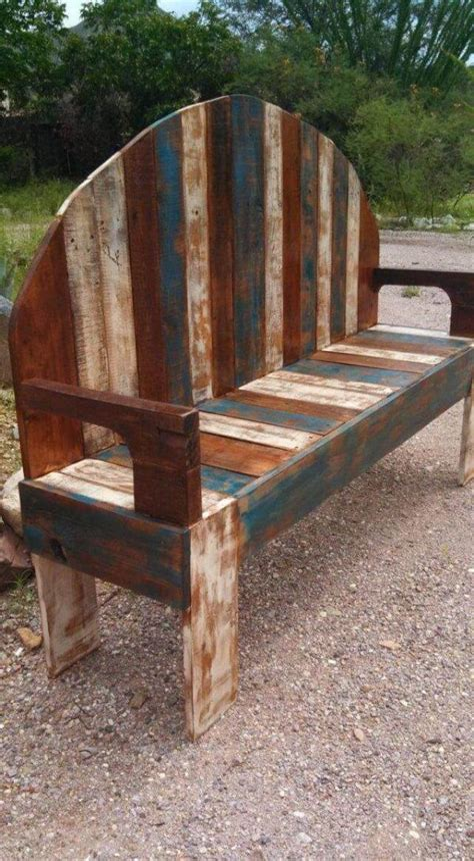 Diy-Rustic-Pallet-Bench