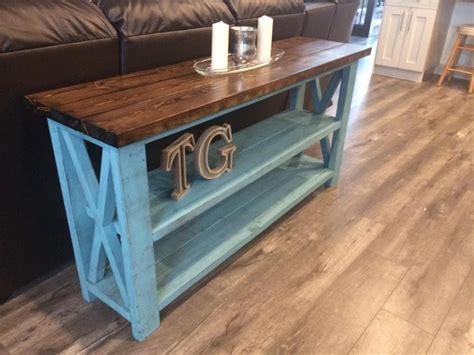 Diy-Rustic-Sofa-Table