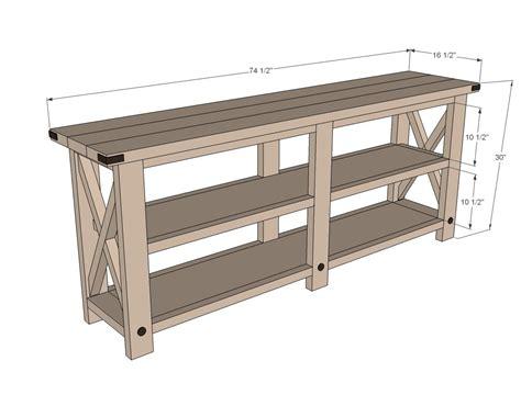 Diy-Rustic-Sofa-Table-Plans