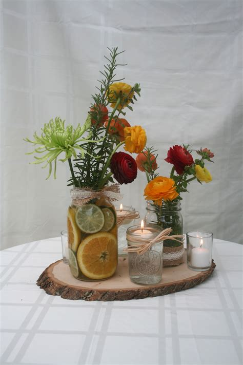 Diy-Rustic-Table-Centerpieces