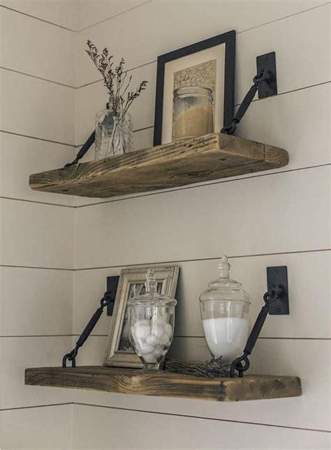 Diy-Rustic-Wood-Floating-Shelves