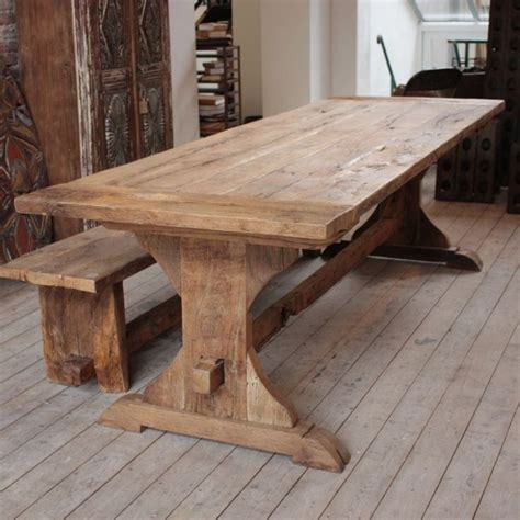 Diy-Rustic-Wooden-Kitchen-Table