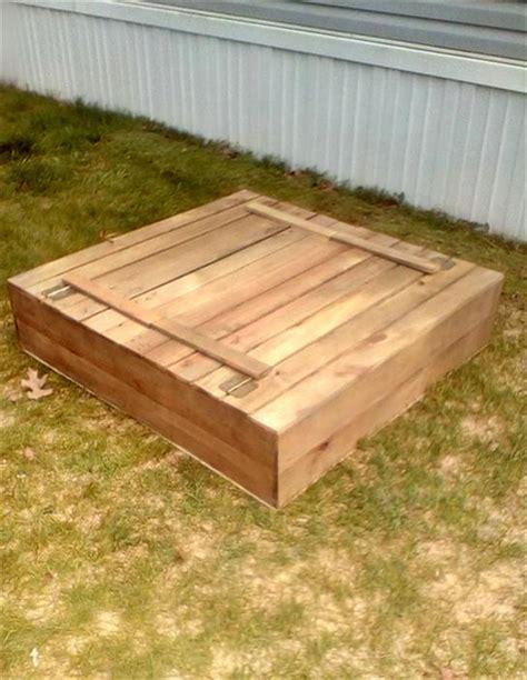 Diy-Sandbox-Pallets