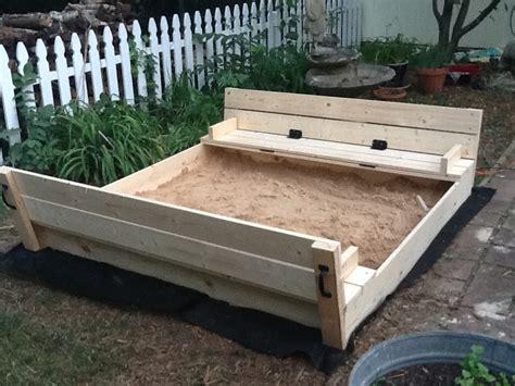 Diy-Sandbox-With-Cover-Plans