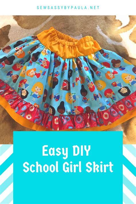 Diy-School-Girl-Skirt
