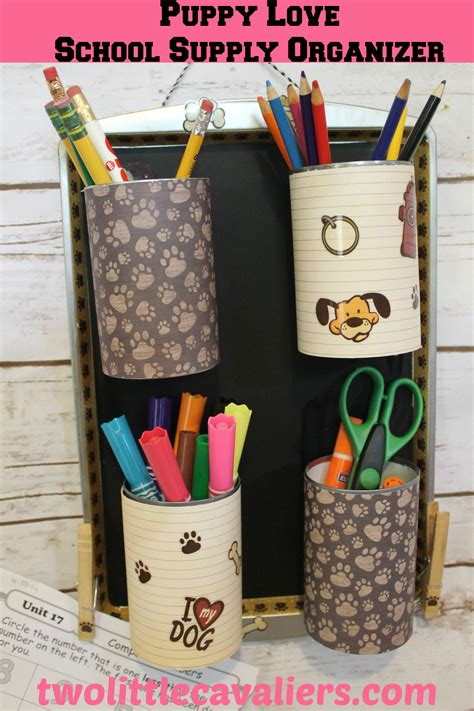 Diy-School-Supplies-Organizer