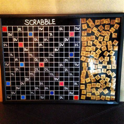 Diy-Scrabble-Board