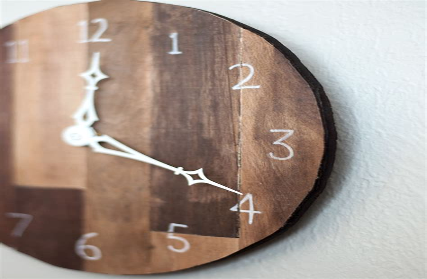 Diy-Scrap-Wood-Clock
