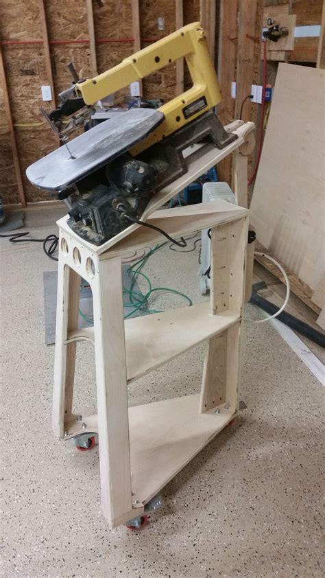 Diy-Scroll-Saw-Stand-Plans